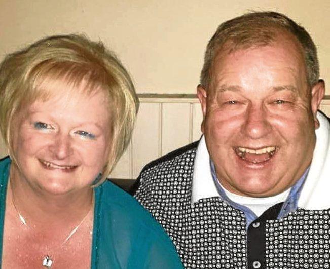 Alan Jamieson with wife Jacqueline.