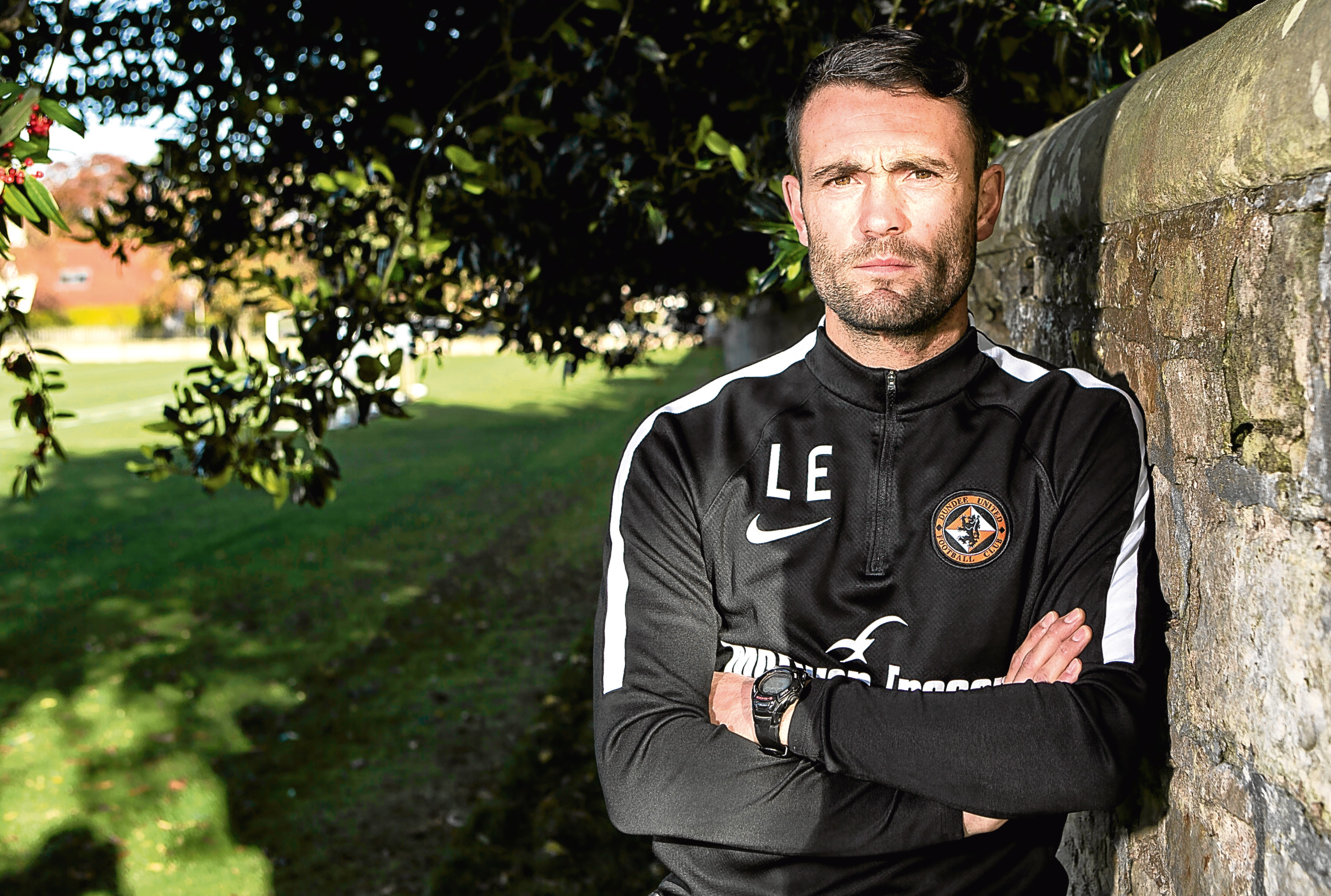 Dundee United interim manager Laurie Ellis