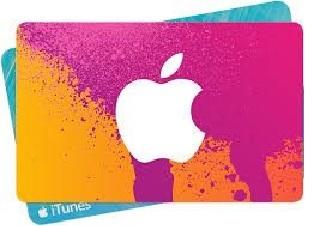iTunes voucher