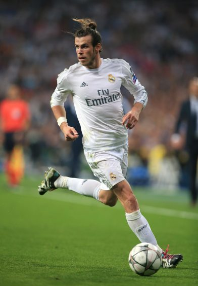 Real Madrid and Wales star Gareth Bale