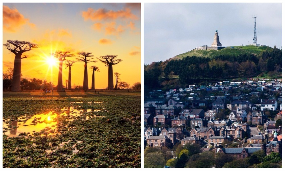 Dundee has been ranked higher than Madagascar in the Wall Street Journal's places to visit list.