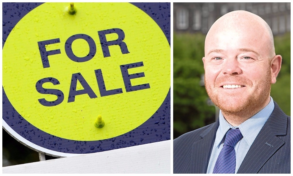 Estate agent Chris Todd says the property market in Dundee is the best it has been in 10 years.
