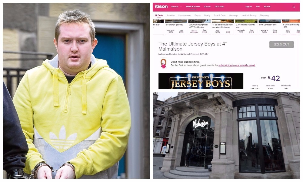 A Jersey Boy's show at the Malmaison has been axed after convicted conman Christopher Ireland's failed to make a payment