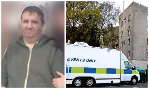 Mark Johnston, and police at Nursery Road