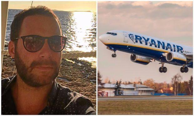 Alan Turner regularly flies to London as part of his job.