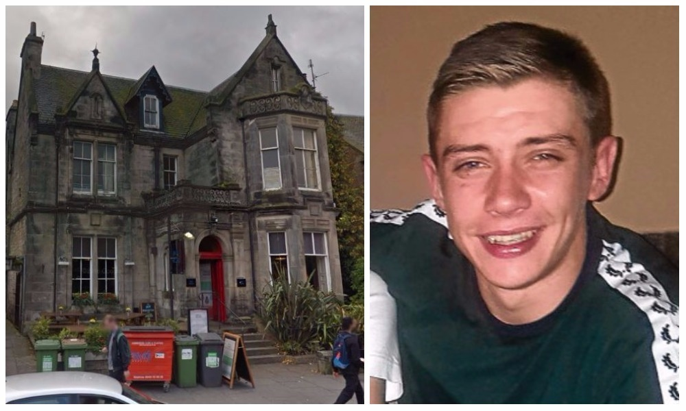 Knife thug Jack Gren admitted the incident at St Andrews Tourist Hostel
