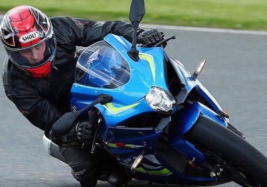 Graeme Bell on his bike