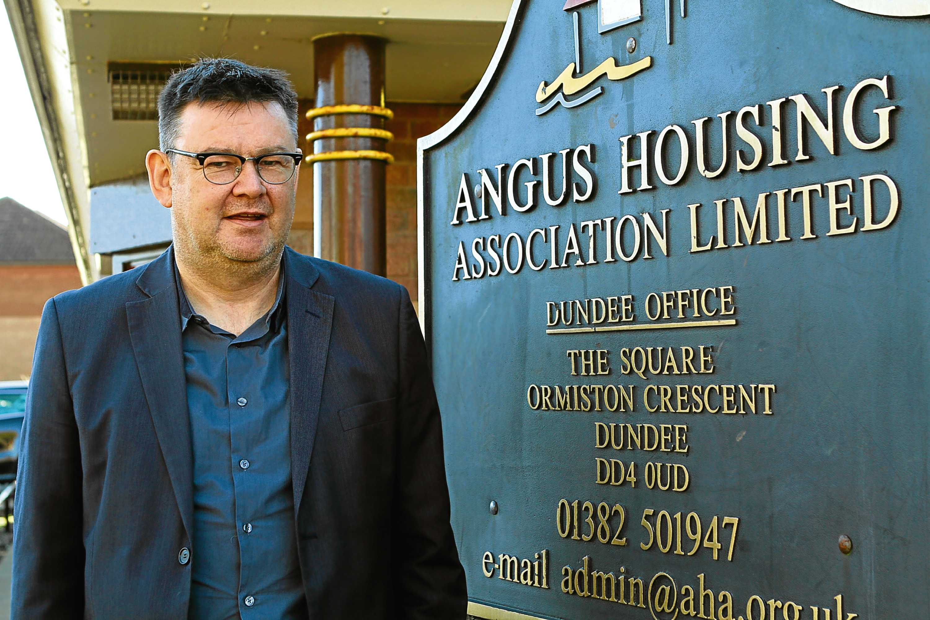 Bruce Forbes, Director of Angus Housing Association
