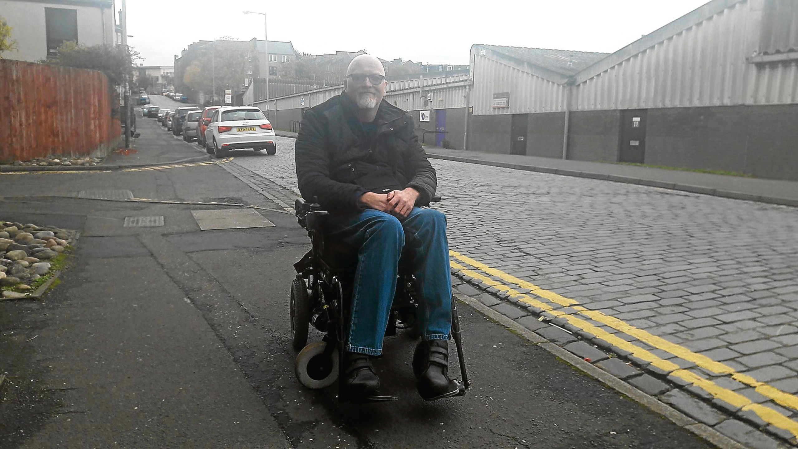 Jim McKaig on Peddie Street