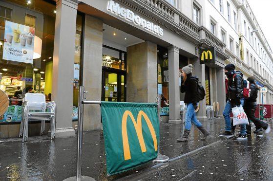McDonald's in Reform Street (stock image)