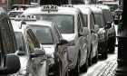 Taxis in Dundee. (library image)
