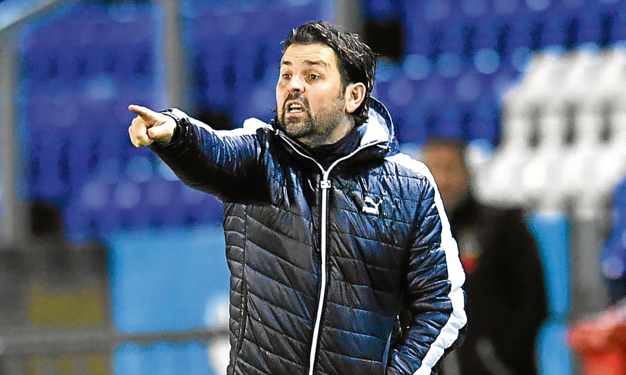 Falkirk boss Paul Hartley