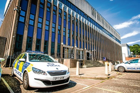 Police Scotland Tayside Division HQ