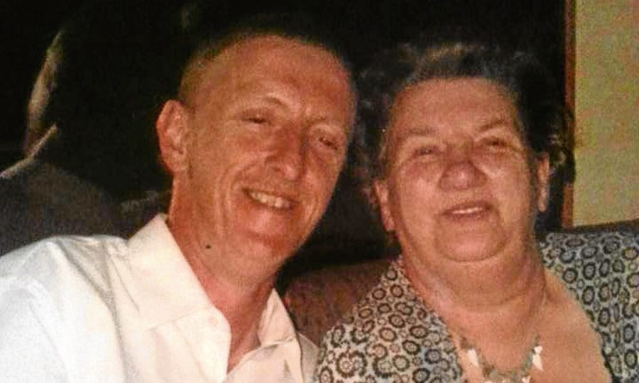 Mark Burry and mum Violet Burry