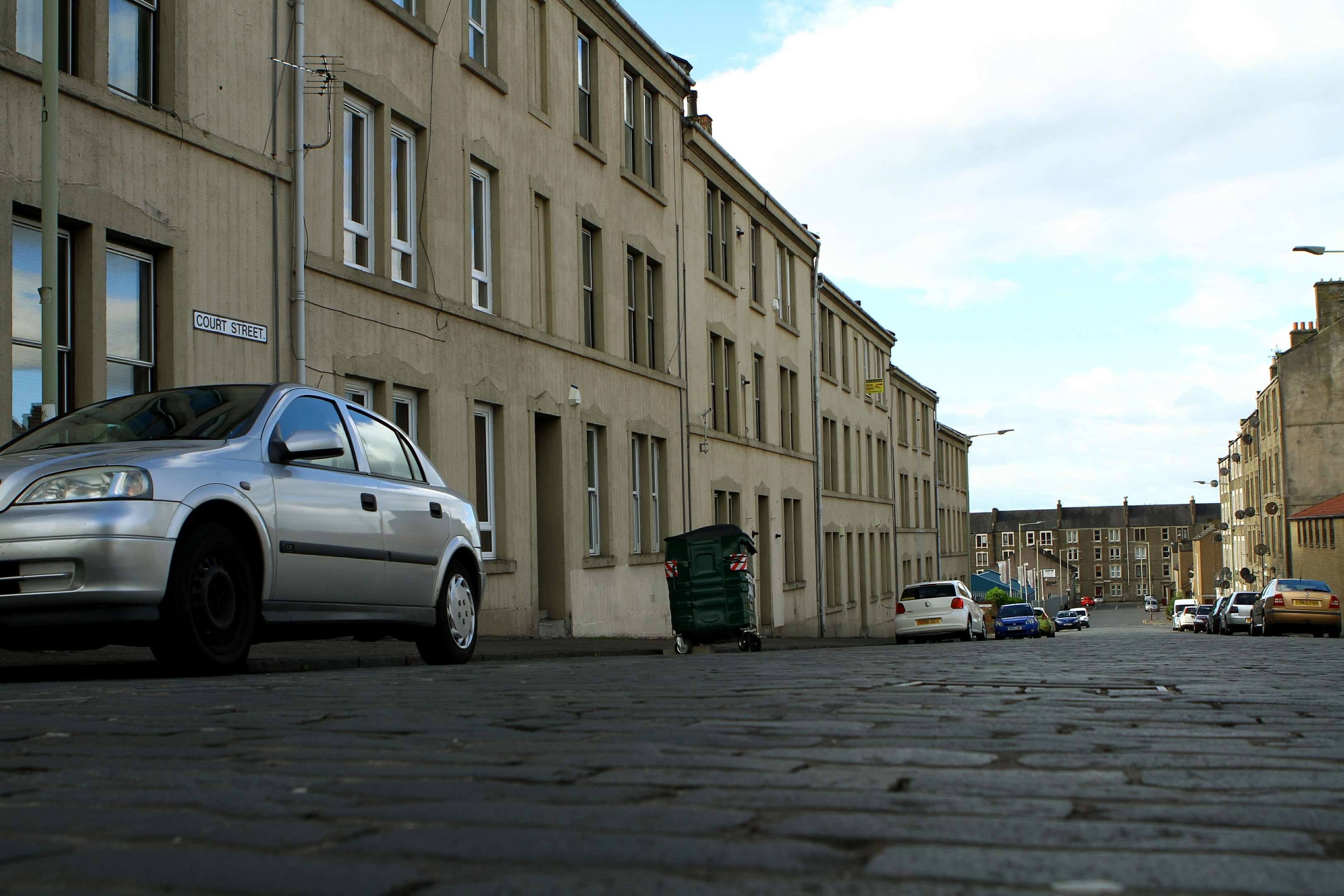 Court Street, Dundee (stock image)