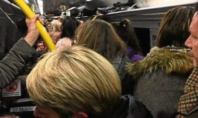 Trains to Dundee were packed last Saturday