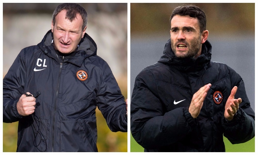 Csaba Laszlo and Laurie Ellis will take charge of United together for the first time today.