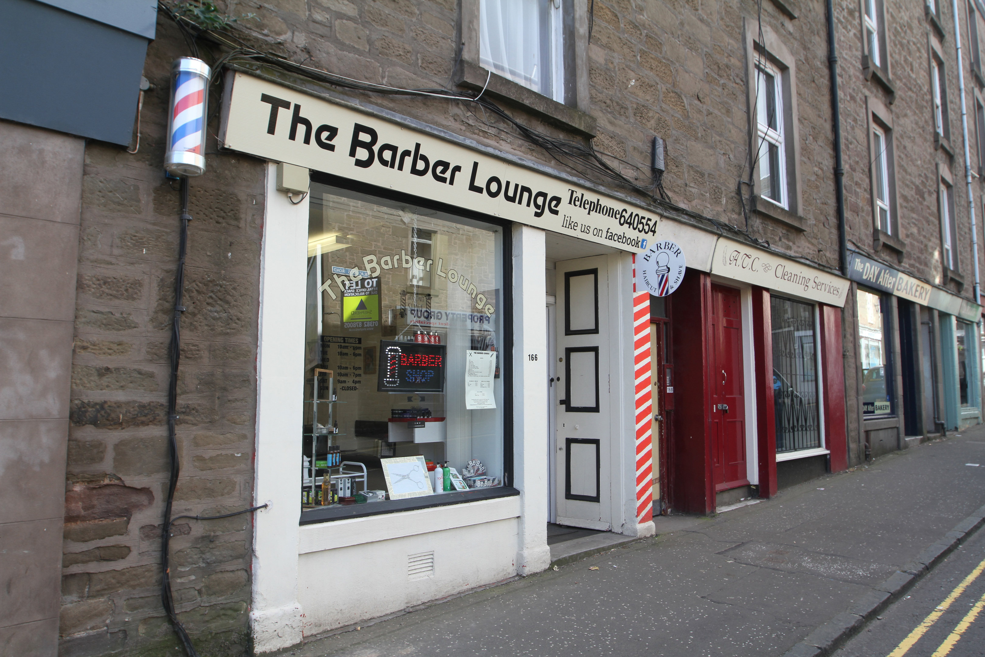 The Barber Lounge on Blackness Road