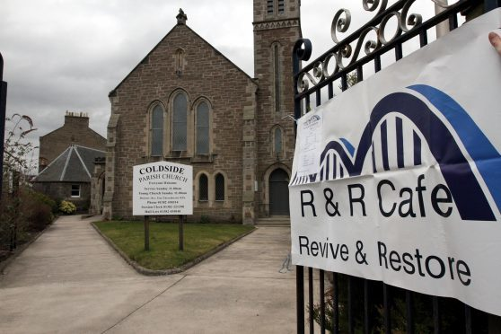 The cafe is based at Coldside church