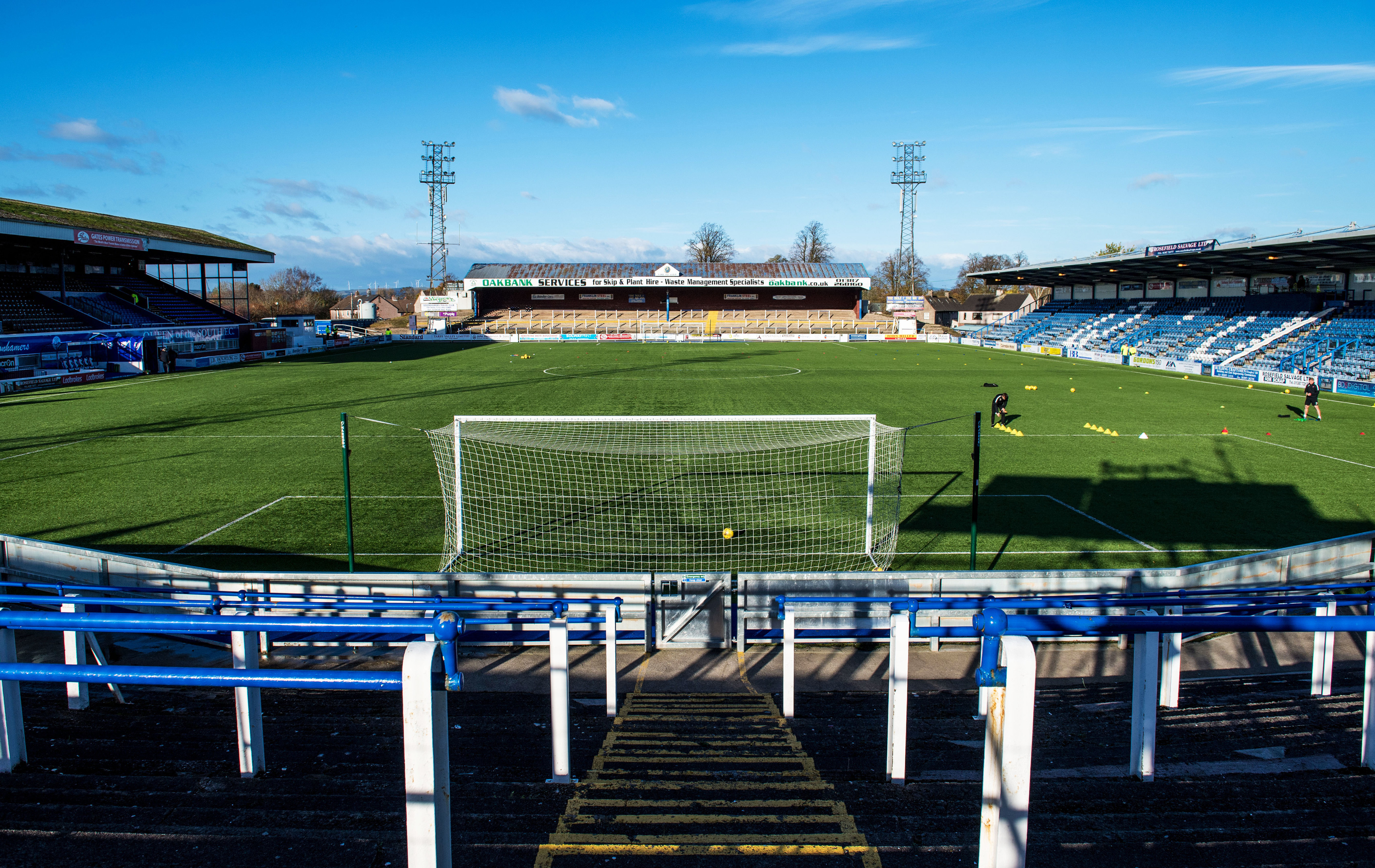 Dundee United will travel to Palmerston Park this weekend.