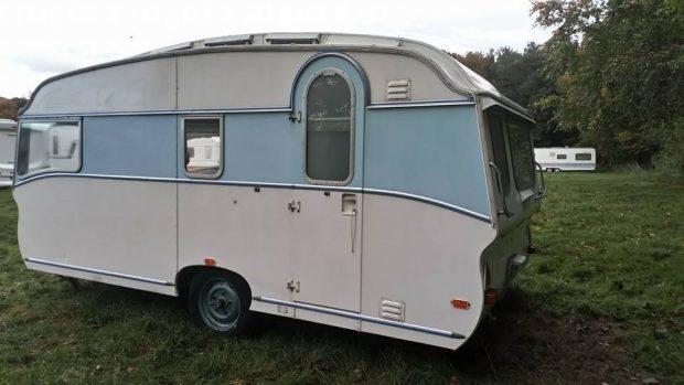 The stolen caravan.