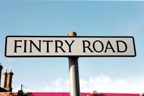 Fintry Road (Stock image).