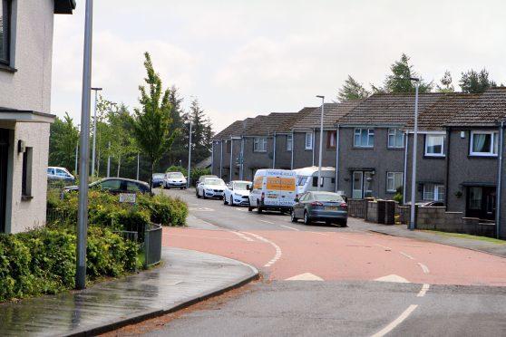 Hebrides Drive (stock image)