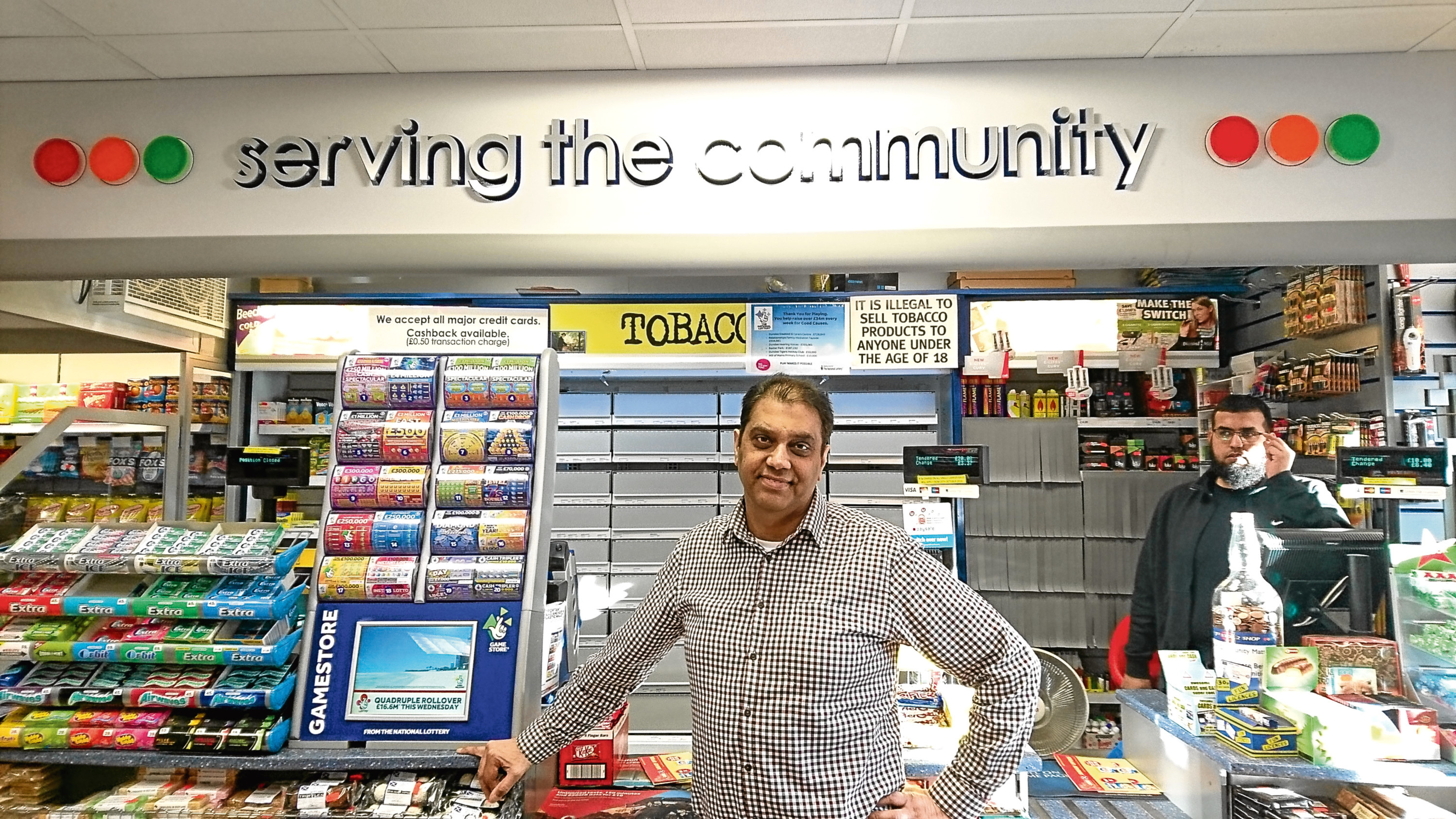 Mohammed Issa has run convenience stores in Dundee for 40 years but fears for the future