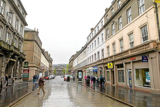 Reform Street, Dundee (stock image)