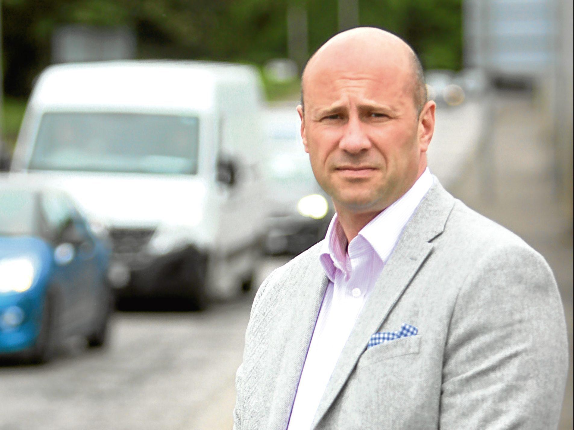 Councillor Derek Wann.