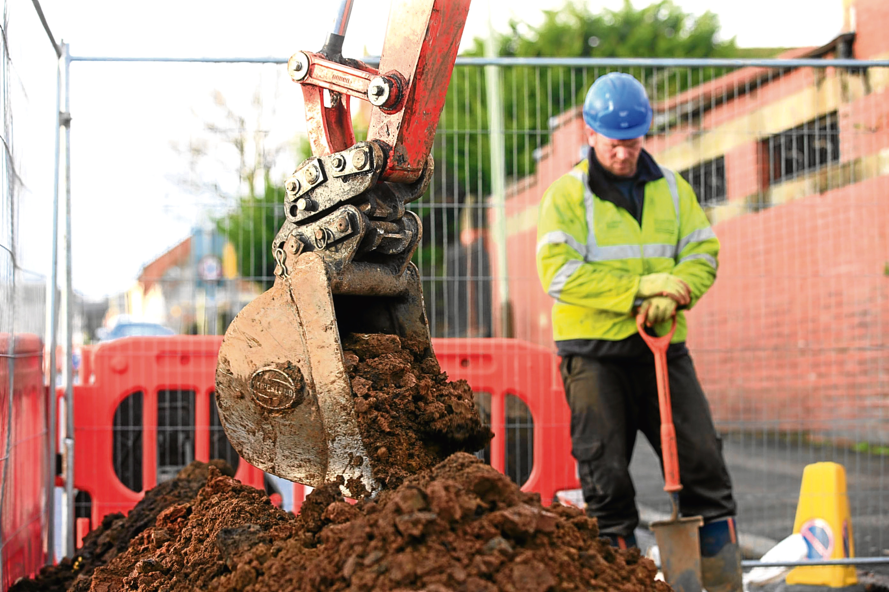 Scottish Water has been carrying out work across the city.