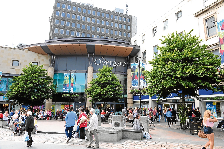 Overgate Shopping Centre (stock image)