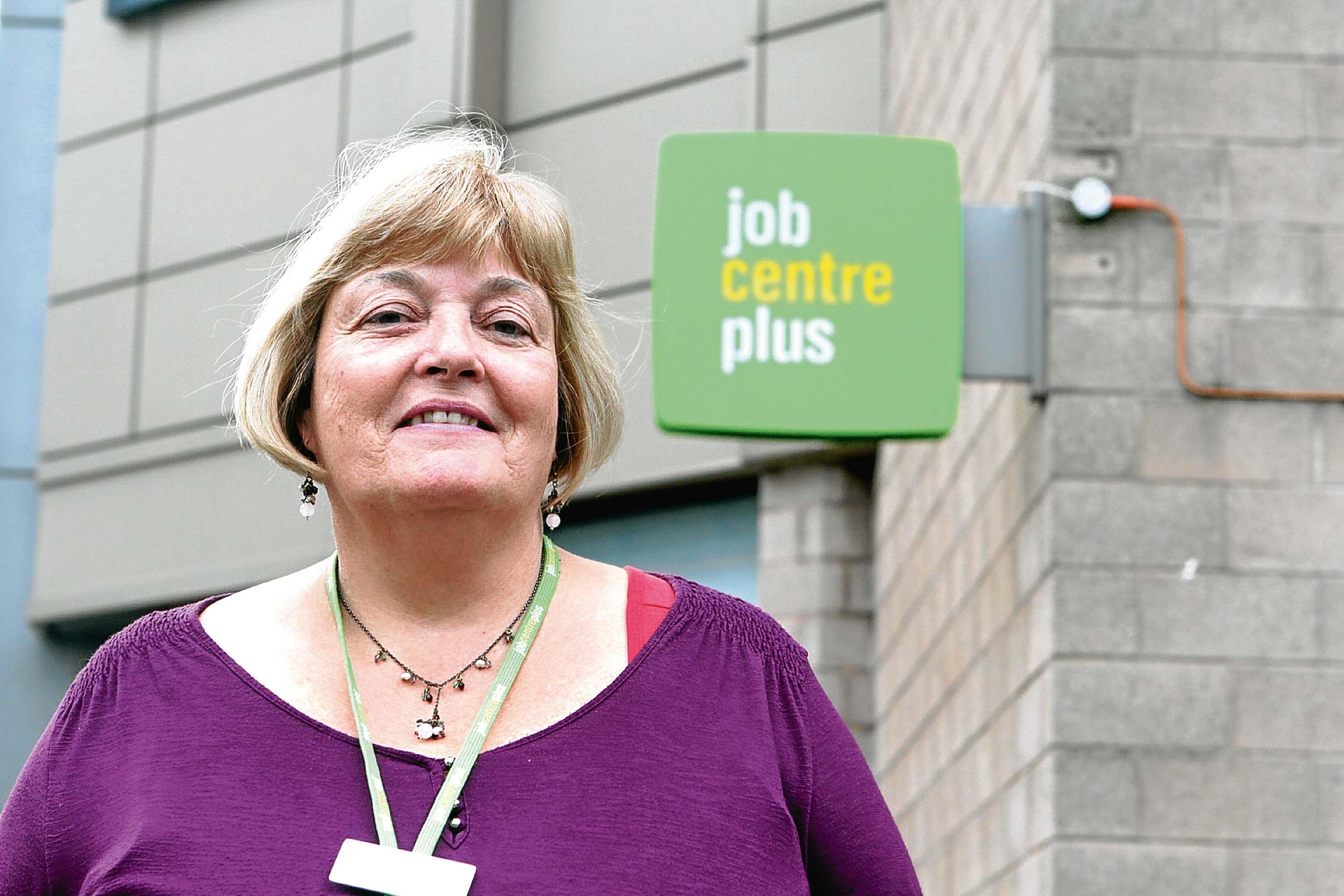 Jane McEwen of Dundee's JobCentre Plus.