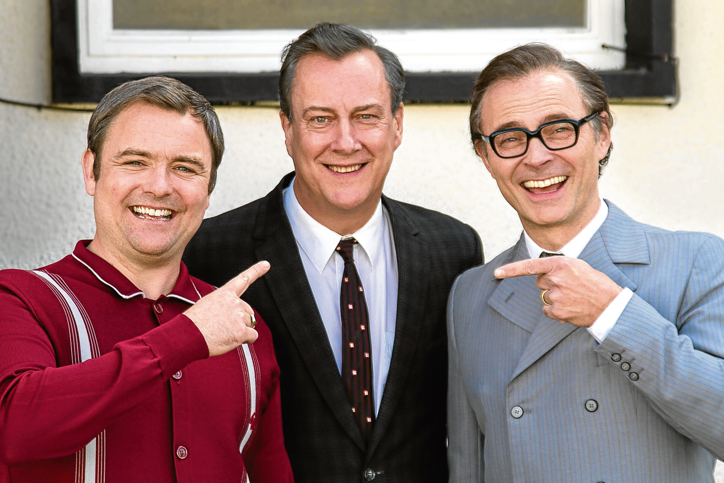 Stephen Tompkinson, Mark Bonnar and Neil Maskell are to star in a new BBC Morecambe and Wise biopic