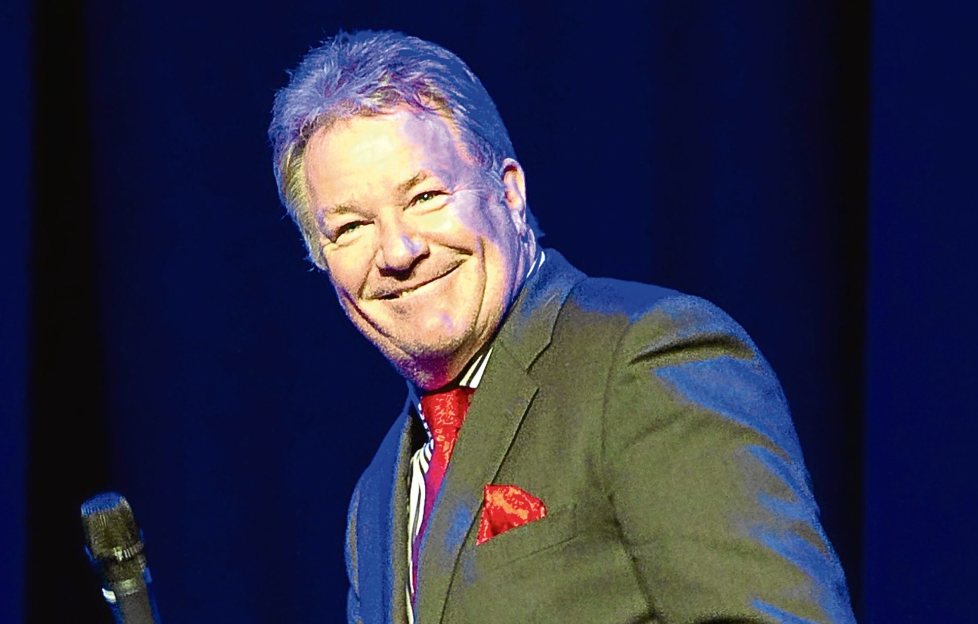 Jim Davidson will perform on stage at the Whitehall Theatre early next year
