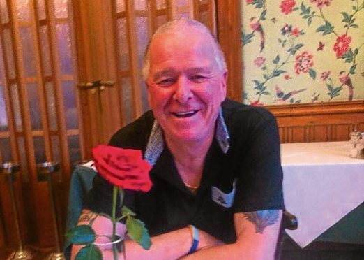Stuart Diamond, 62, died three days before he was due to travel home to spend Christmas in Scotland.