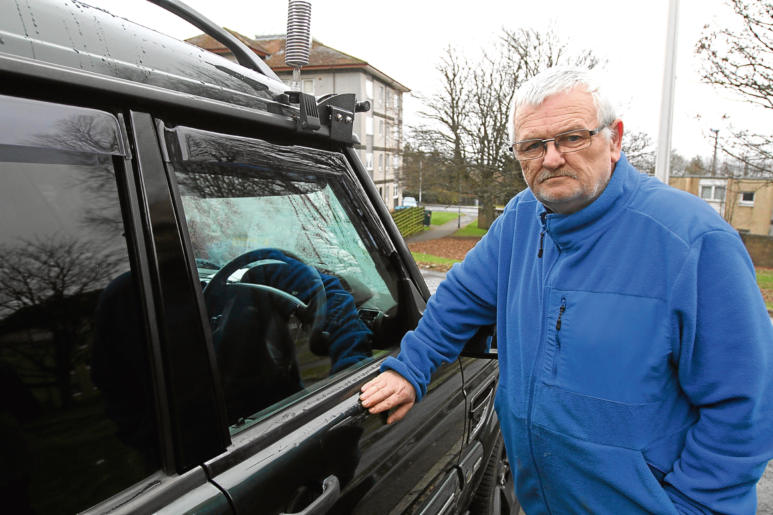 Brian Miller, of Menzieshill, said he is still living in fear and is terrified to leave his own home.