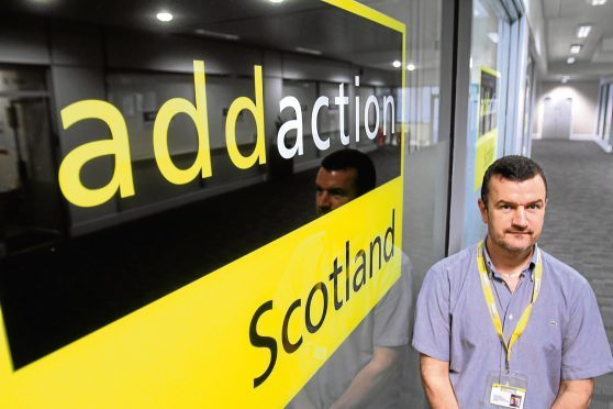 """Addaction's Dave Barrie says the conversation around drugs and alcohol is """"starting to shift in Dundee""""."""