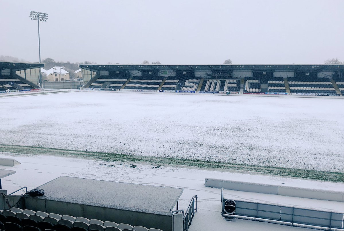 The pitch as it was a few hours ago.