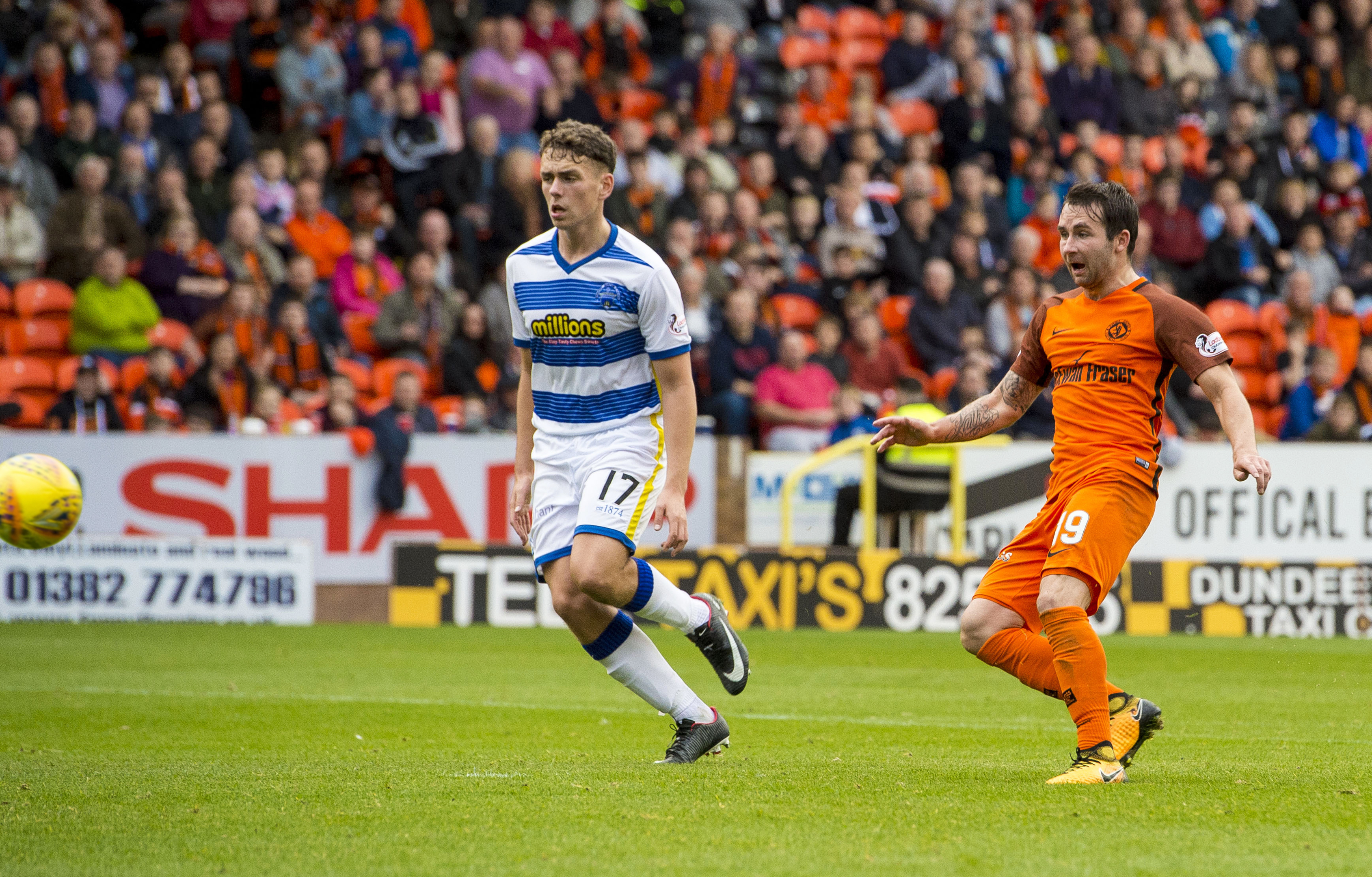 United beat Morton 2-1 the last time the two sides met at Tannadice.