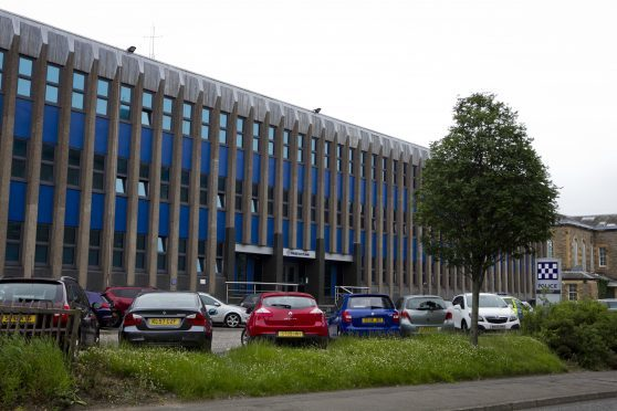 Police headquarters in Dundee.