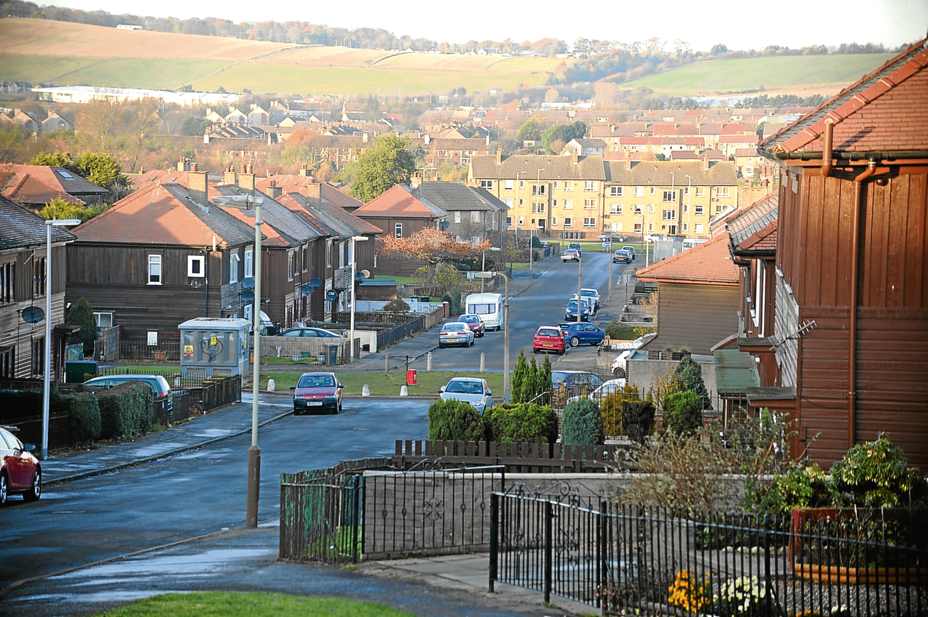 Linlathen is one of the most deprived areas in Scotland.