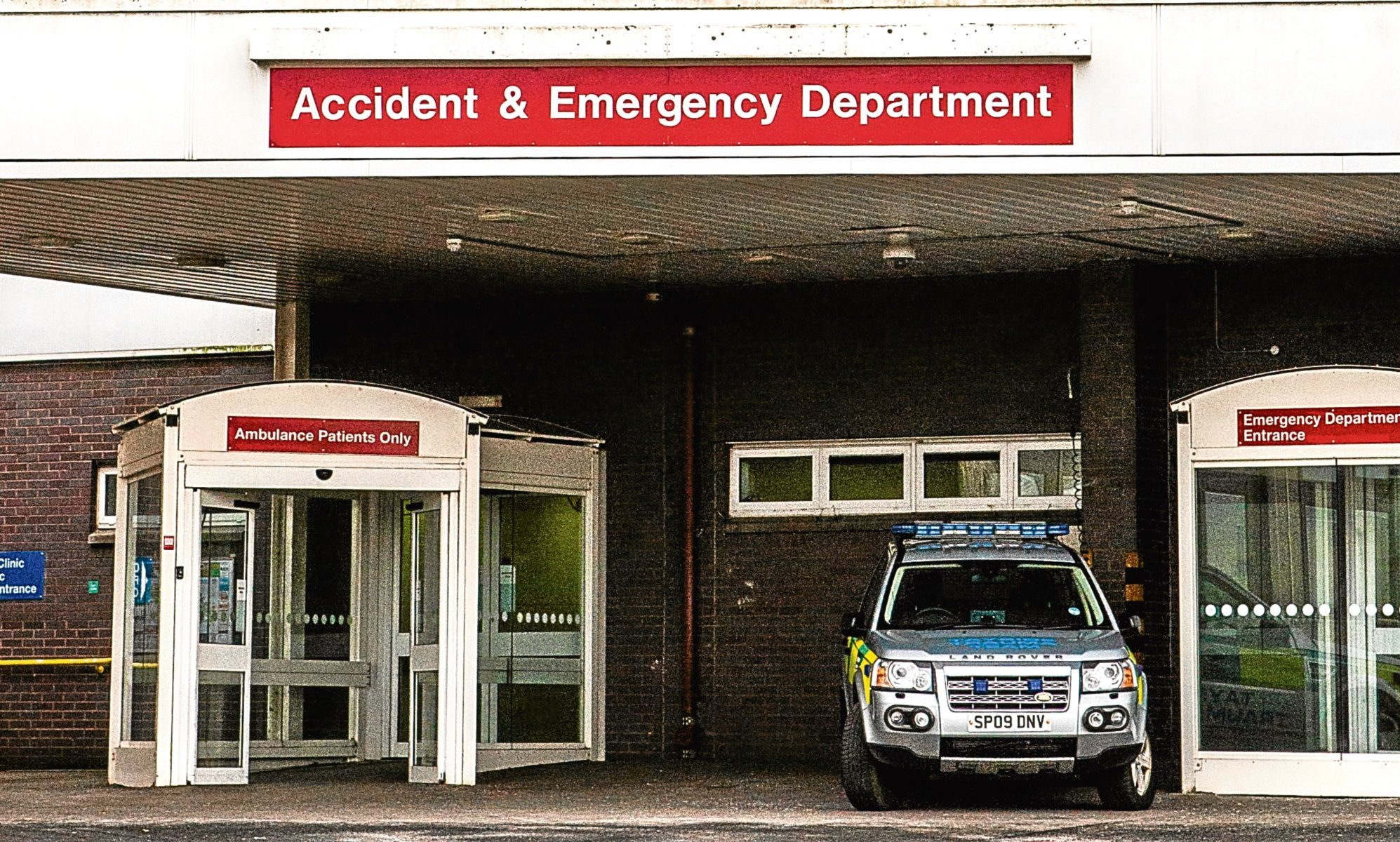 Ninewells Accident and Emergency Department