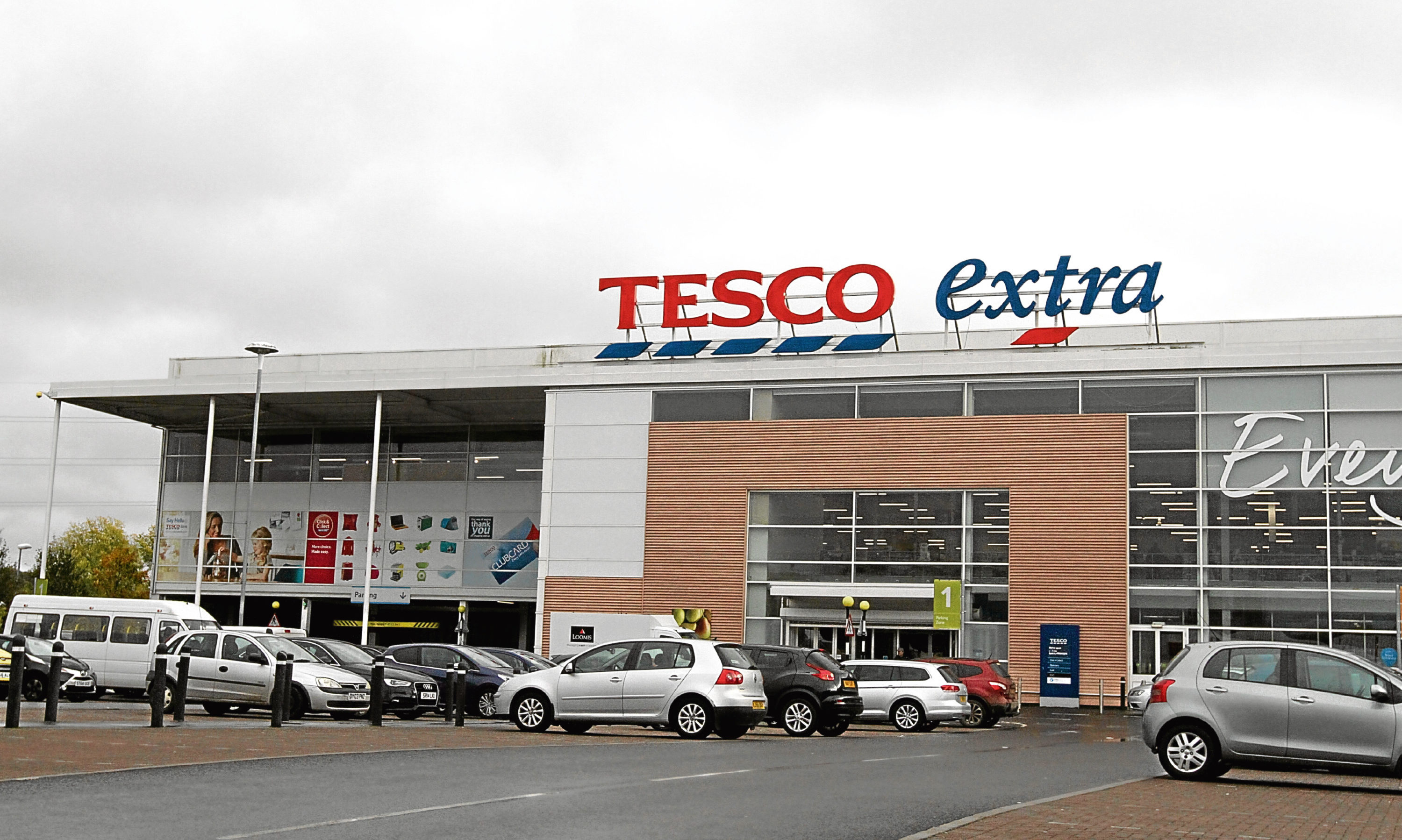 The robbery took place near Tesco in South Road.