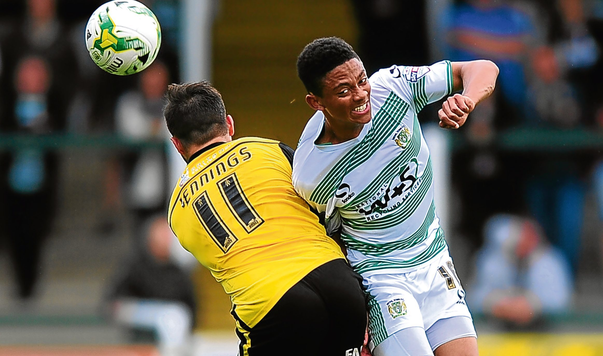 Woking's Nathan Ralph, pictured in action for Yeovil, is attracting interest.