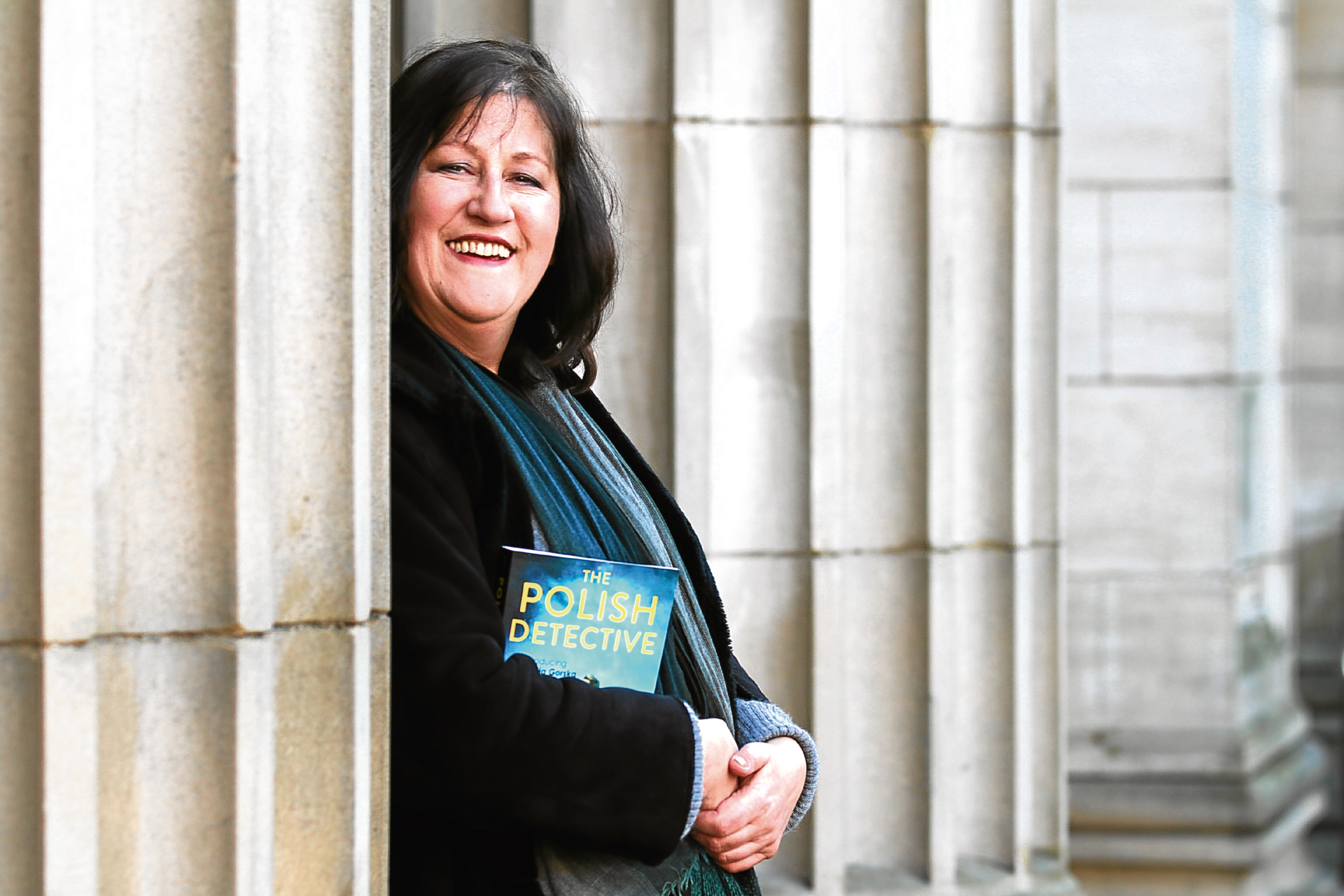 Hania Allen's new novel The Polish Detective is set in Dundee.