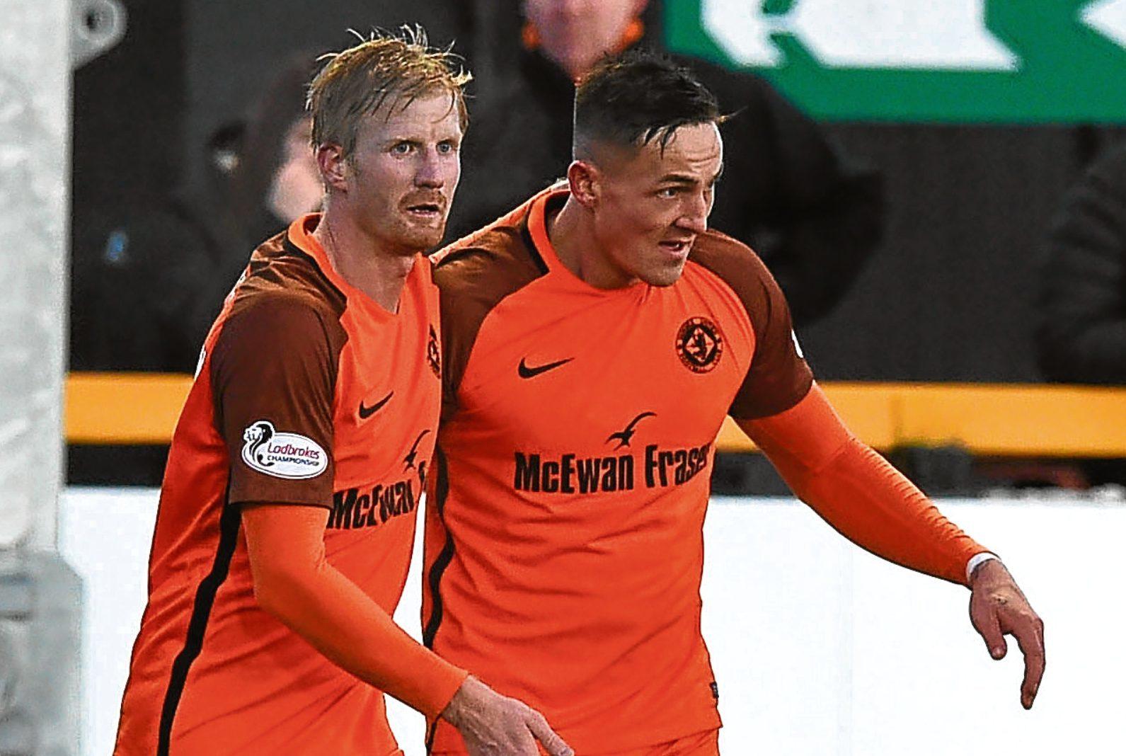 Danish pair Thomas Mikkelsen and Emil Lyng.