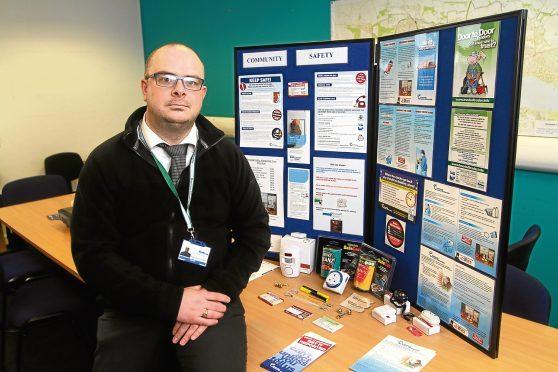 Community and safety Manager Garyth Jardine