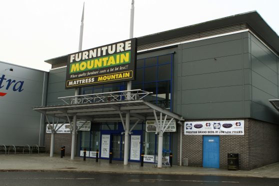 Furniture Mountain at the Kingsway West Retail Park