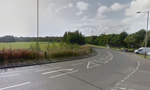 The junction of Whitfield Drive and Drumgeith Road (stock image)